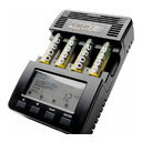 BATTERY CHARGER 1-4xR6 R03 LCD/deltaV, 2A, 12V DC, MH-C9000