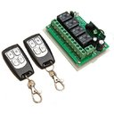 4CH Channel 315Mhz Wireless Remote Control Switch With 2 Transimitter