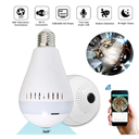 360° Wireless Hidden WIFI 960P/1080P HD Camera LED Light Bulb Security Lamp
