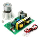 Ultrasonic Cleaning Generator Driver Board + 60W 28KHz Transducer